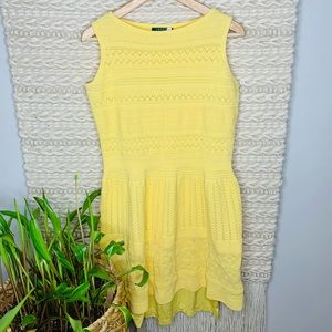 Lauren Ralph Lauren Yellow Dress